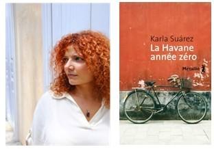 Salon International du livre insulaire d'Ouessant :  Karla Suarez primée