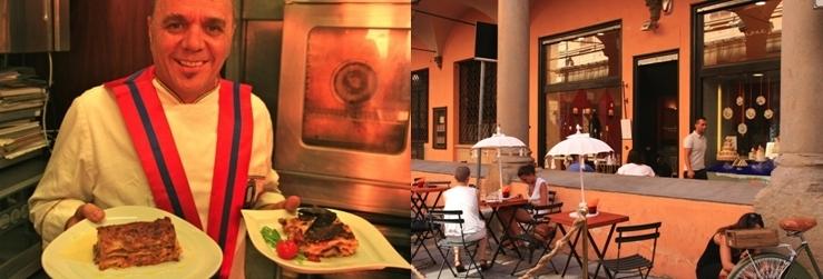 le chef Miriano Baldacci du restaurant le 7 Archi
