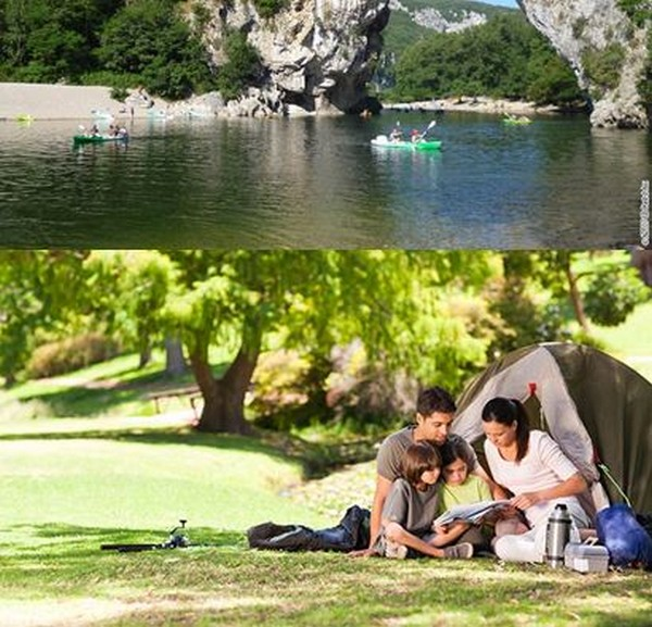 Sur l'eau, en pleine nature, en bordure de mer, en bungalow, tente ou en camping-car, Flower-Campings répond à toutes ces attentes. @ DR