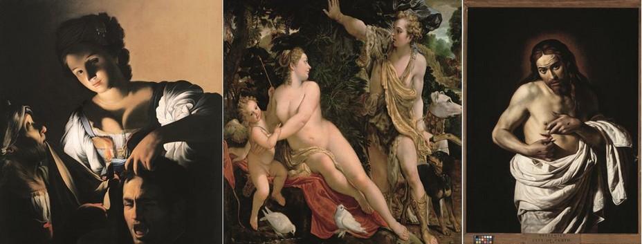 Le baroque a vu le jour lorsque Le Caravage commence à faire sensation à Rome vers 1600 avec ses peintures naturalistes au style complètement innovant et pénétrant et au puissant clair-obscur. @Olivier Middendorp.