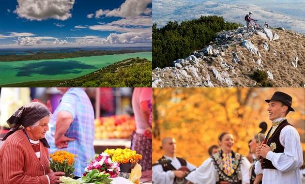 Danses folkloriques,fleurs de toutes les couleurs, mer,montagne,sport cyclisme,randonnée,bâteau,pêche, tout est prêt pour accueillir à nouveau les touristes. @ OT Croatie