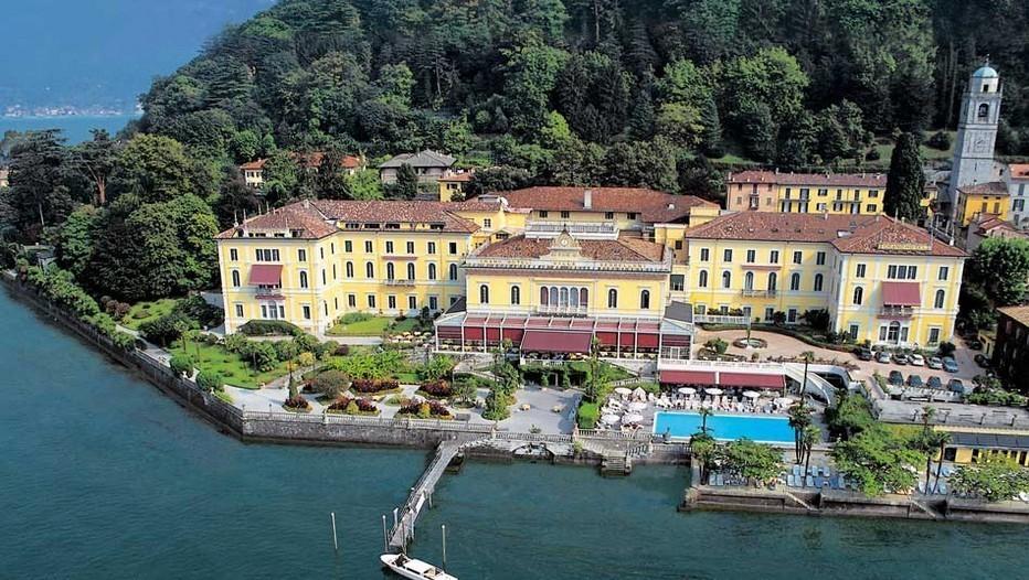 Le Grand Hôtel Villa Serbelloni est le seul hôtel cinq étoiles de luxe de Bellagio. C'est aussi une oasis de quiétude et de discrétion sur les bords du lac de Côme (photo droits réservés).