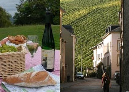 Village Viticole  au Grand-Duché (Photo O.T.L.)