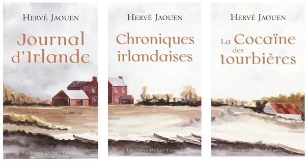 Romans et Carnets de Voyage d'Hervé Jaouen (Editions Ouest France)