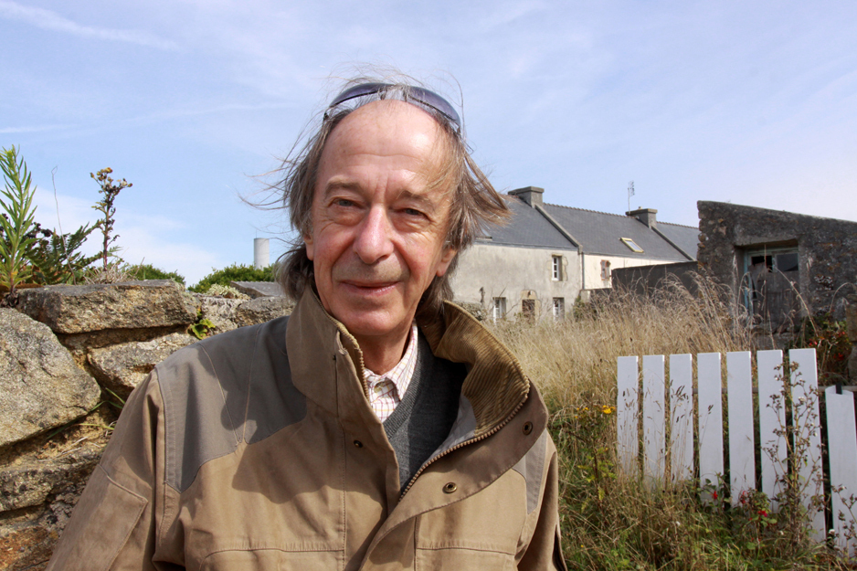 Rencontre avec Hervé Jaouen au Salon du Livre d'Ouessant (Copyright David Raynal)