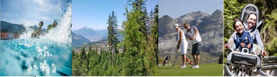 Le choix des activités pendant la saison estivale aux Carroz @ DR et OT des Carroz.