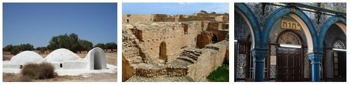 Mosquée souterraine, magnifiques ruines à préserver, entrée synagogue (Djerba)