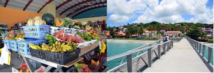 L'hôtel Diamant Les Bains est idéalement situé à proximité de toutes les commodités et en bordure de la plus longue plage de la Martinique.@ David Raynal