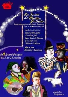 Théâtre : La Farce de Maître Pathelin au Grand Parquet