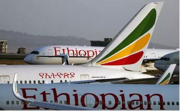 La flotte de la première compagnie africaine @ Ethiopian Airlines