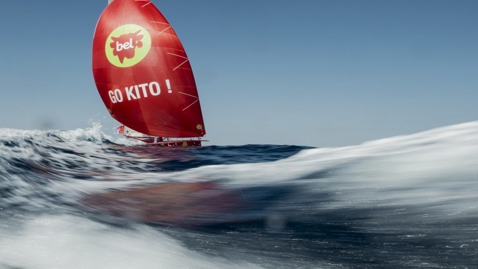 VendéeGlobe Kitto de Pavant/Crédit photo Vincent Curutchet