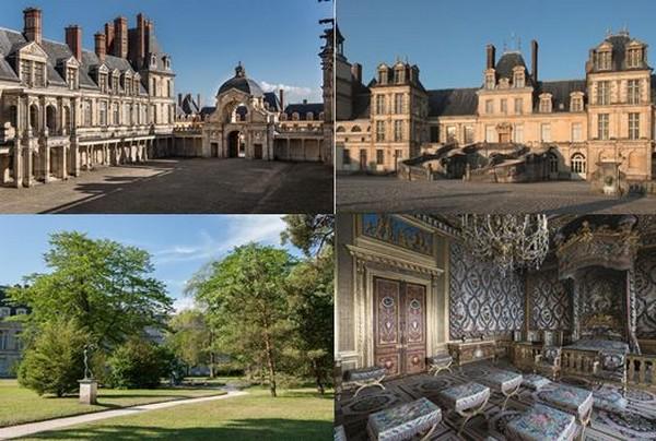 Le château de Fontainebleau auxx muutiples visages. Crédit photo Serge Reby, Béatrice Lécuyer-Bibal.