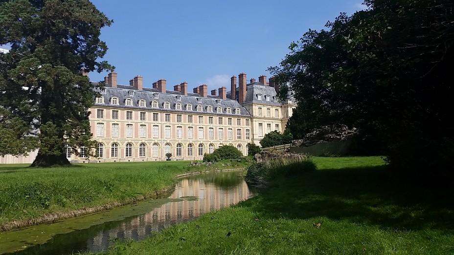 Le jardin anglais de Fontainebleau. Crédit photo Serge Reby.
