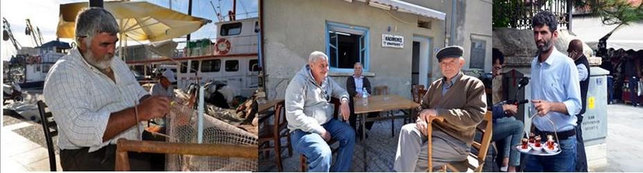 Scène de vie populaire sur la côte égéenne près d'Izmir. Crédit photo David Raynal.