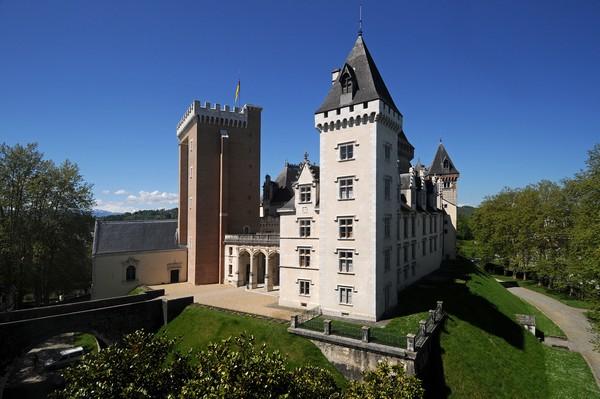 château de Pau ©d.guilhamasse.©pau pyrénées tourisme