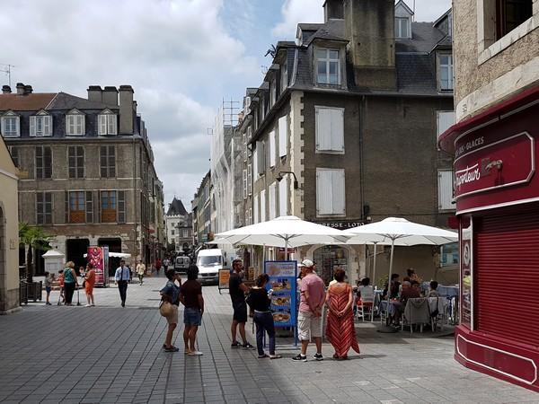 Pau La rue Joffre ©JM.Decompte