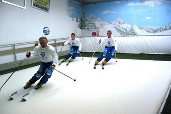 Démonstration de Roolling Ski