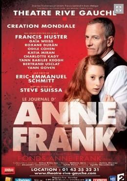 Anne Frank au Théâtre Rive-Gauche, avant le drame, la vie.