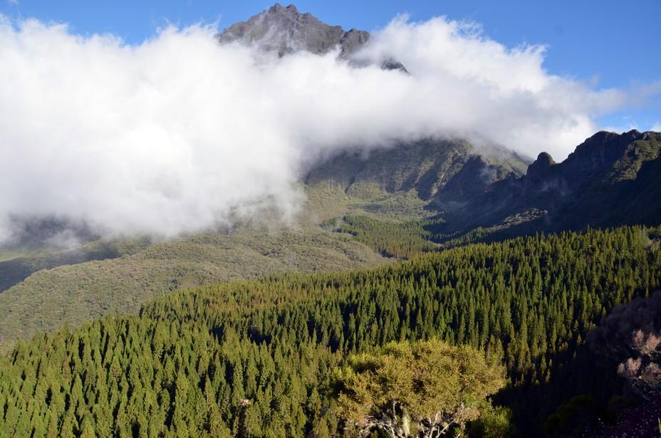 La Réunion et ses pitons inscrits depuis 10 ans au Patrimoine de l'Unesco.  @ David Raynal