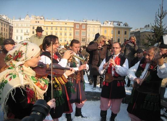 La musique est omniprésente à Cracovie (Copyright Catherine Gary)