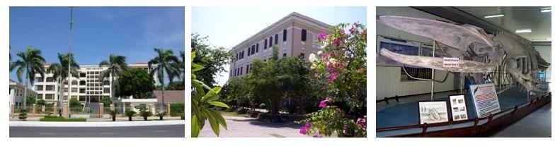 Institut Pasteur à Nha Trang, Institut géographique Cau Da construit vers 1910, Musée de l'Institut Géographique.