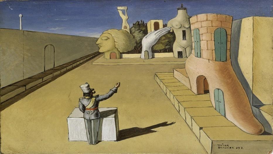 """La ville qui rêve"" de Victor Brauner 1937"