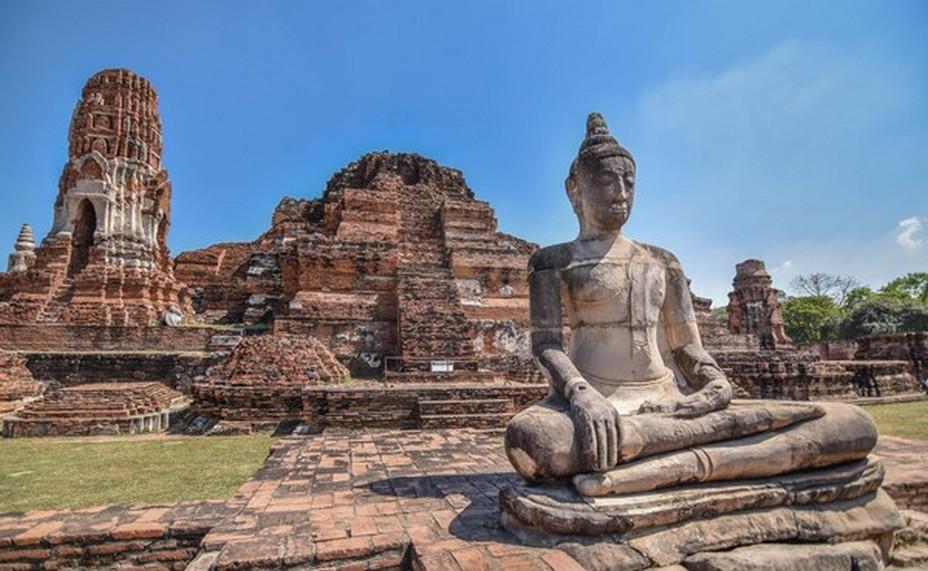 Les vestiges d'Ayutthaya @FS