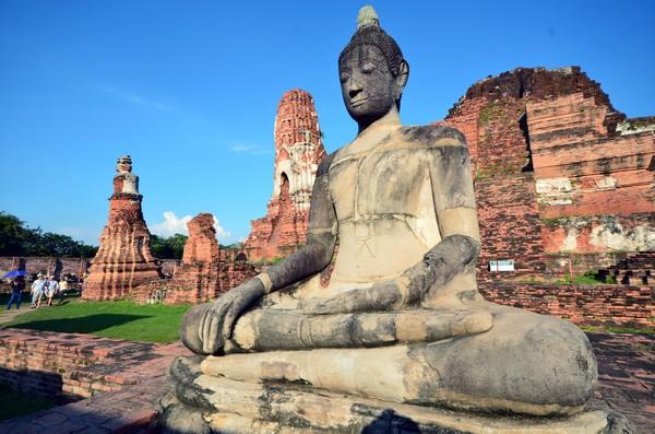 L'école artistique d'Ayutthaya témoigne de l'ingéniosité et de la créativité de la civilisation locale mais aussi de sa capacité à assimiler une multitude d'empreintes étrangères. . @ David Raynal