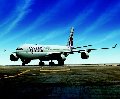 Copyright Qatar Airways - A 340