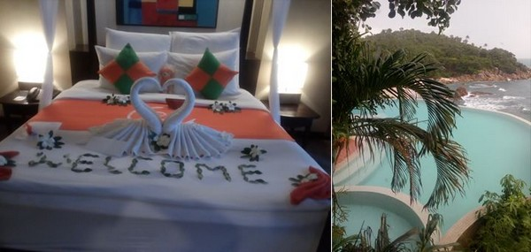 Un accueil fabuleux au New Star Beach Resort  et Une vue incroyable au Silavadee Pool Spa. @ F.Surcouf