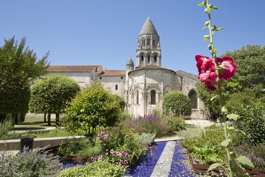 Jardins de l'Abbaye aux Dames -©-Sebastien Laval