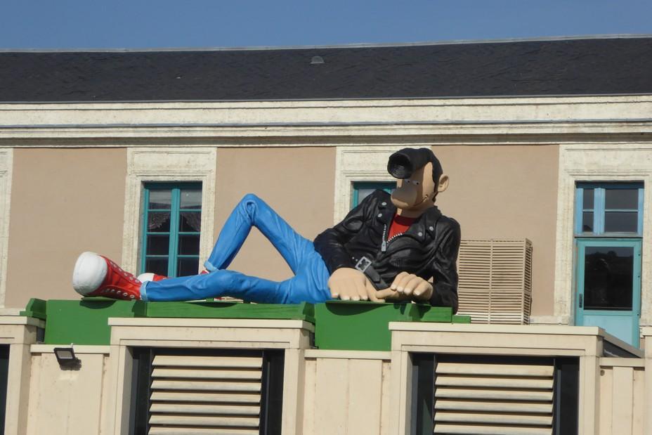 Angoulème. Le Festival de la BD vous accueille à la gare @. C.Gary