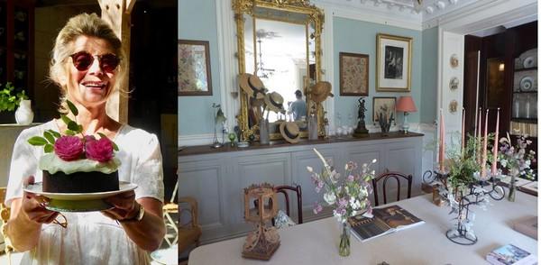 Accueil au goûter par Fanny Desclaux et  Chambre d'hôtes de charme dans l'ancienne maison Lacroix @ C.Gary
