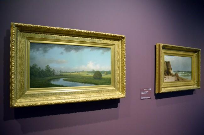 Le musée des impressionnismes Giverny propose aujourd'hui de retracer l'évolution de l'art du paysage chez les artistes américains grâce aux quelque 90 toiles, lithographies et aquarelles des XIXe et XXe siècle de la collection de la Fondation.@ David Raynal