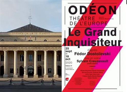 Affiche @ DR - Théâtre de l'Odéon