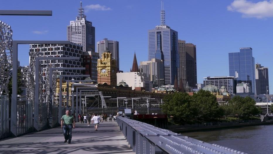 Promenade au coeur de Melbourne (Photo Sylvain Grandadam)