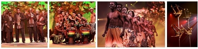 Voyage dans l'univers de la  planète du Cirkafrika