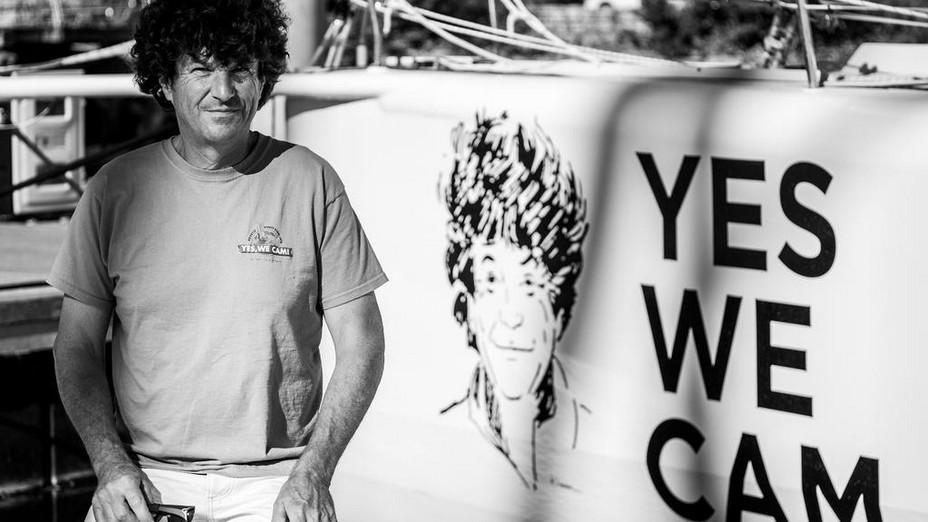 """Doyen de l'édition, le navigateur breton Jean Le Cam alias le """"Roi Jean"""" pourrait avec ses cinq participations au Vendée Globe faire figure d'outsider. @ VG"""