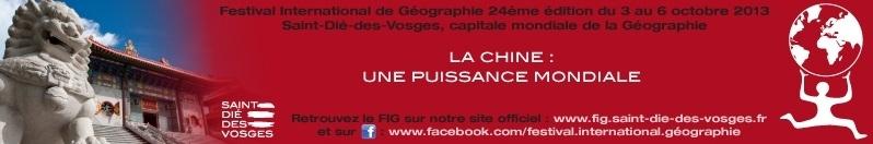 Saint-Dié-des-Vosges :  FIG 2012 -  Parole de géographe.....