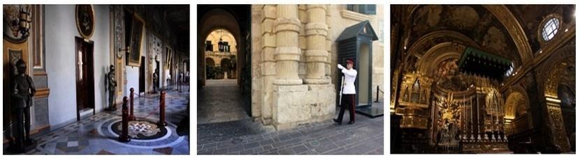 La cathédrale Saint-Jean et le palais des Grands Maîtres de l'Ordre de Malte constituent quelques-uns des nombreux joyaux de l'architecture Maltaise de la Valette. (Crédit photos David Raynal).