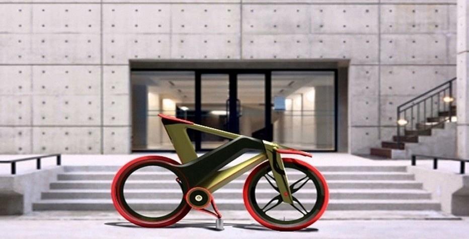 Le Mooby Bike dessiné par le designer italien Simone Madella (photo Yankodesign)