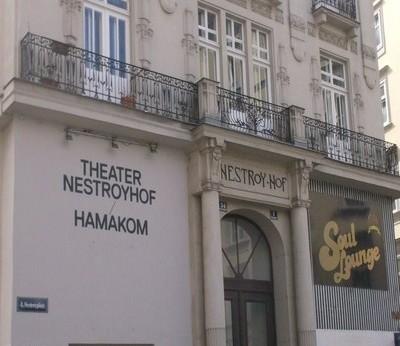 théâtre Nestroyhof- Hamakom construit au début du XIXe siècle par l'architecte Oskar Marmorek  (photo Isolde.J)