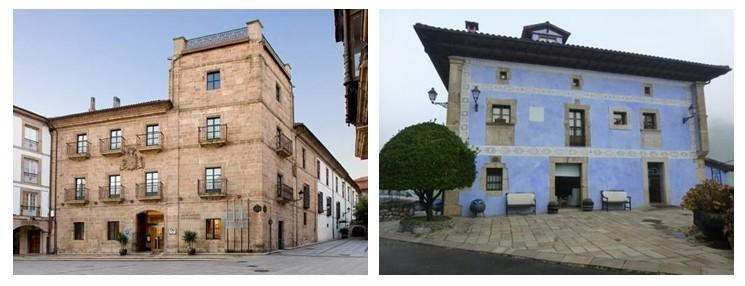 NH Palacio de Ferrera***** et  Hotel Rural Sucuevas