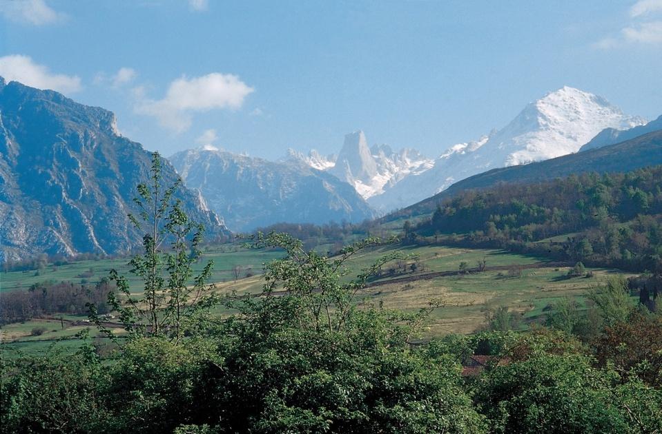 une région montagneuse classée Parc National d'Espagne (Photo Catherine Gary)