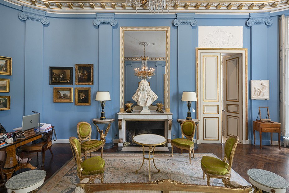 Fondation Custodia - grand salon (c) Jannes Linders
