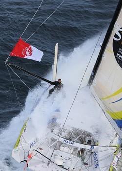 En pleine course (Photo Macif_VG Jean-Marie Liot)