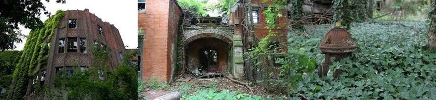 North Brother, une île abandonnée en plein New-York.
