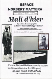 Affiche expo Mali