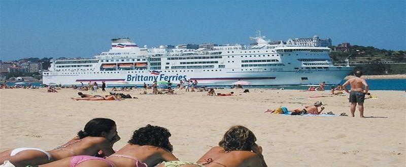 Escale du croisiériste Brittany Ferries