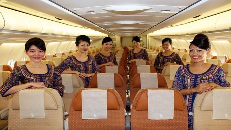 Hôtesses de la Compagnie Singapore Airlines (Photo l'Internaute)
